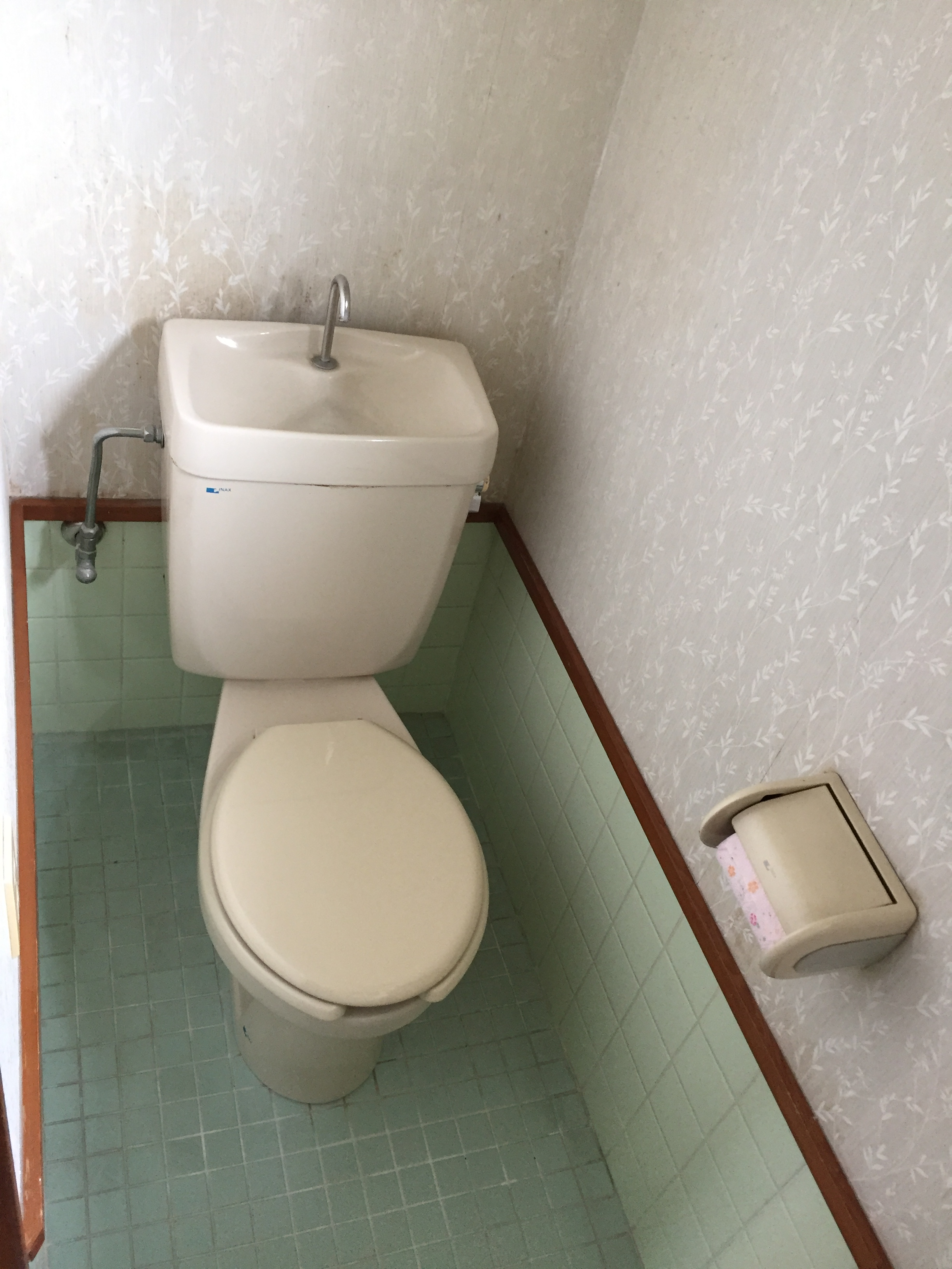 トイレ便器の取り換え